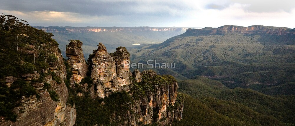 The Three Sisters Katoomba NSW by Ben Shaw