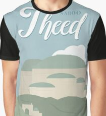 Galactic Travel - Naboo - Theed Graphic T-Shirt