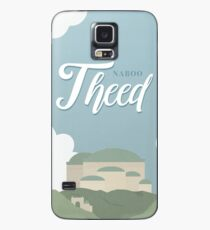 Galactic Travel - Naboo - Theed Case/Skin for Samsung Galaxy