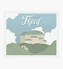 Galactic Travel - Naboo - Theed Photographic Print