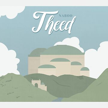 Galactic Travel - Naboo - Theed by madgequips