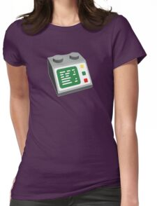 Toy Brick Computer Console Womens Fitted T-Shirt