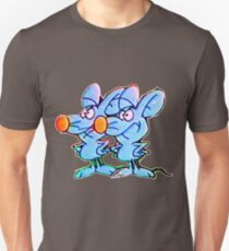 J-5 CARTOON: RAY AND CHARLES Unisex T-Shirt