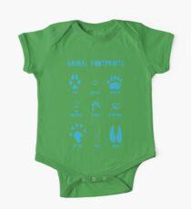Animal Footprints - Blue Kids Clothes