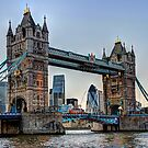 Tower Bridge And The City 2 - HDR by Colin  Williams Photography