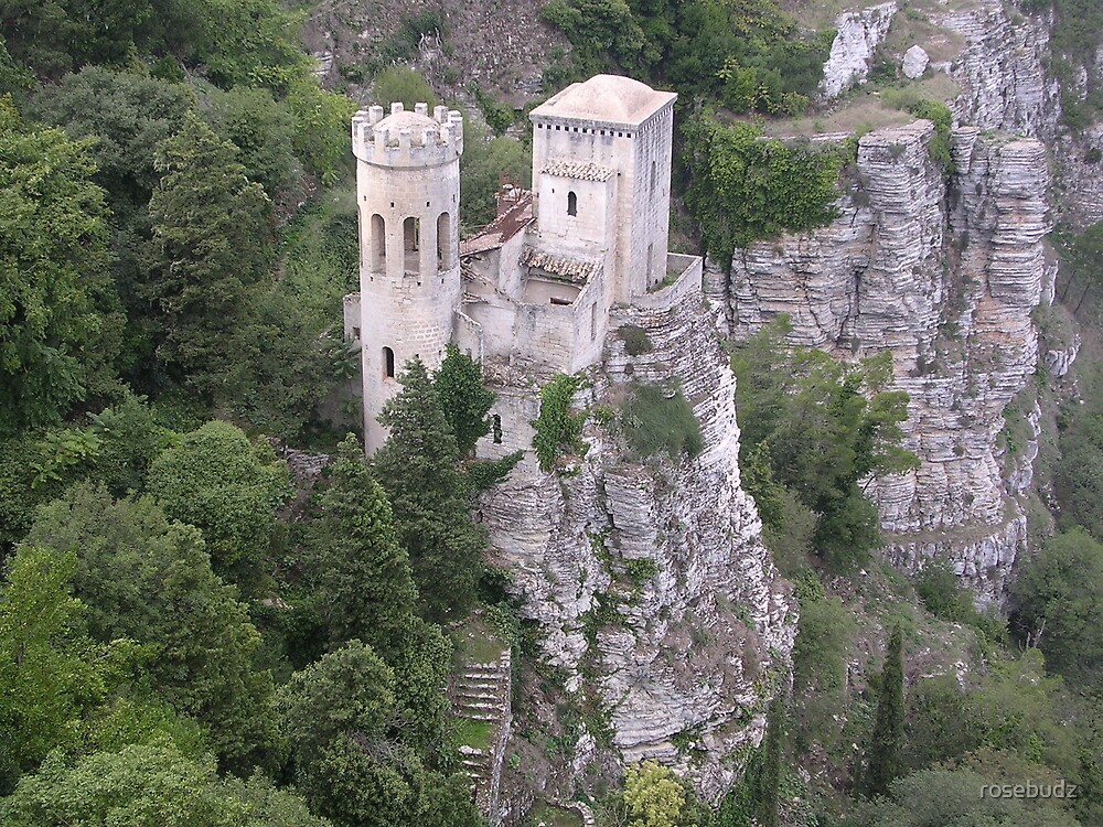 castle of erice by rosebudz