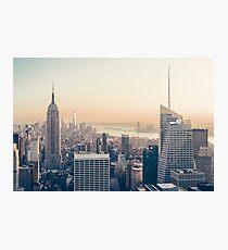 New York Sunset Photographic Print