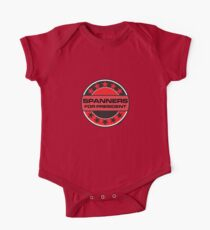 Spanners For President One Piece - Short Sleeve