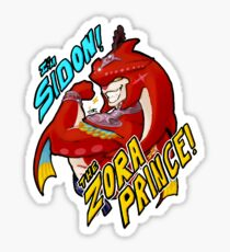 Sidon, The Zora Prince! (With Words) Sticker