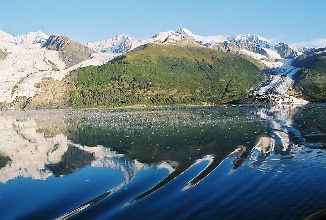Glacier Reflections  by Amber Carter