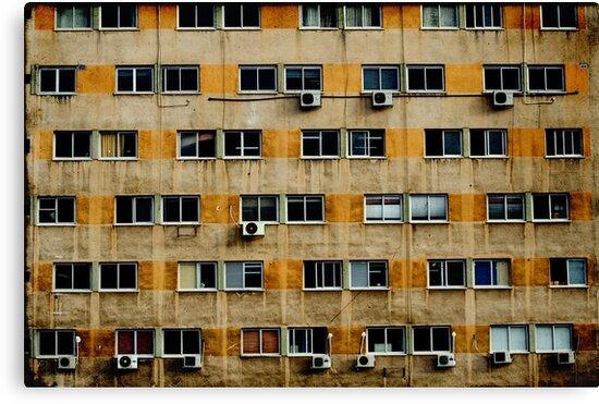 Busy wall by Victor Bezrukov
