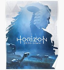 Horizon Zero Dawn 'Art of' Book Cover Poster