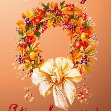 Thanksgiving by Dorrie