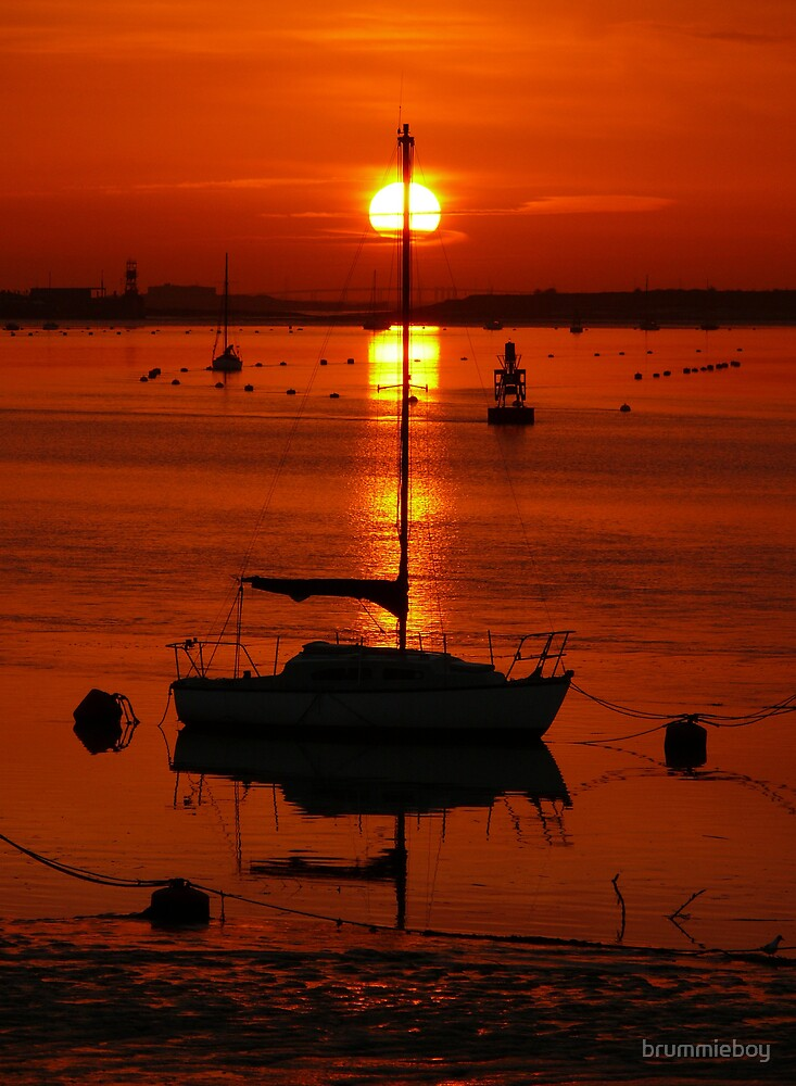 Another Medway Sunrise .... by brummieboy