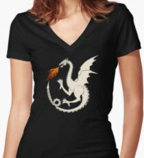 Bloodraven Women's Fitted V-Neck T-Shirt