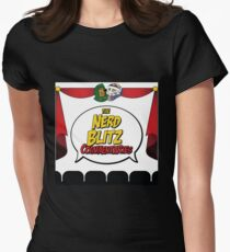 """The Nerd Blitz Commentaries"" by @ShariSayz Women's Fitted T-Shirt"