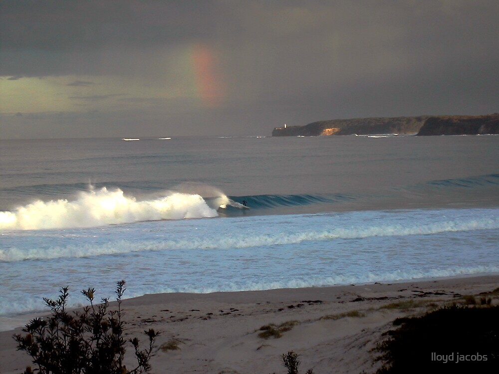 after the storm -Mollymook Australia.  by lloyd jacobs