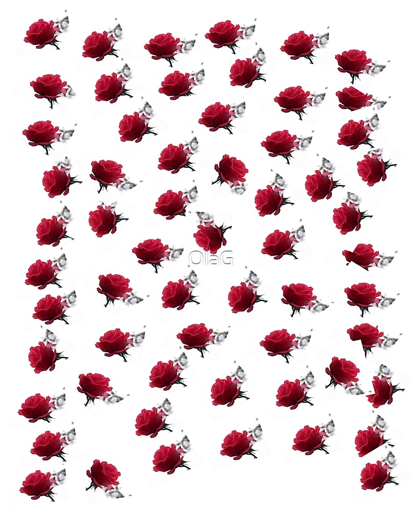 ROSES _ pattern by OlaG