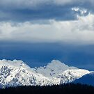 Fresh snow on the Kamnik Alps by Ian Middleton