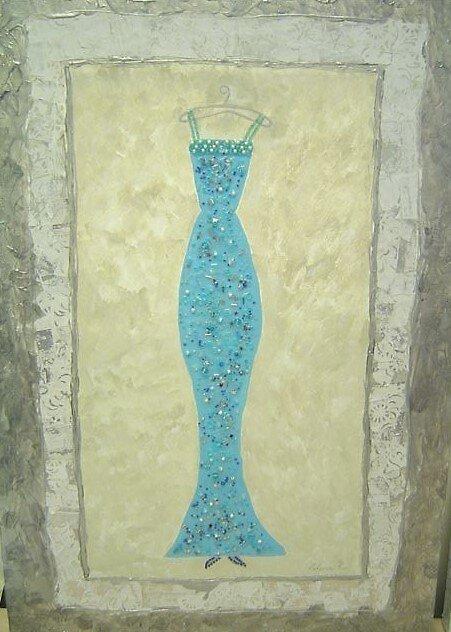 Courture Blue Gown by Celena