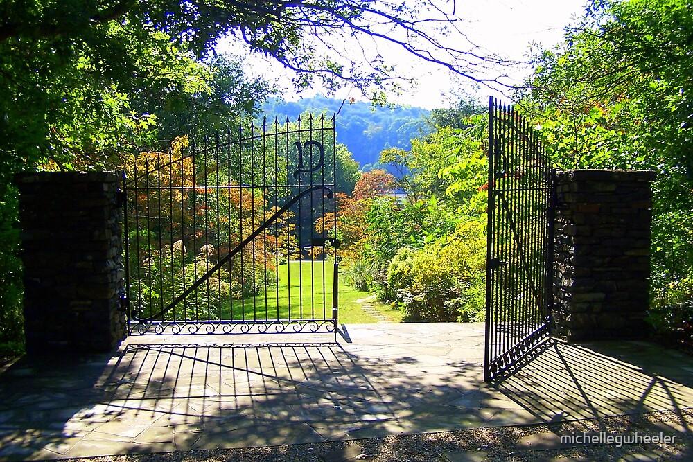 Gates to the Garden by michellegwheeler