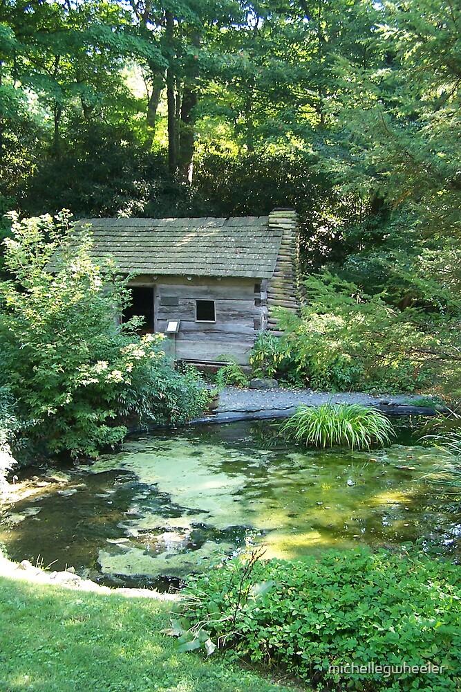 Cabin in the Garden by michellegwheeler