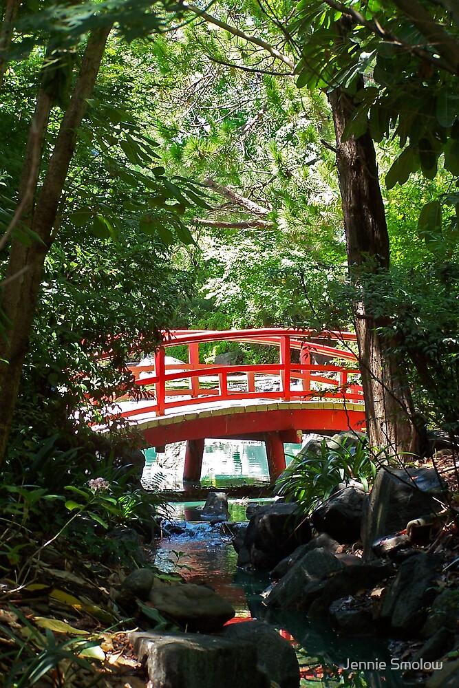 Red Bridge by Jennie Smolow