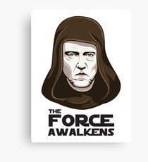 Christopher Walken - The Force Awalkens Canvas Print