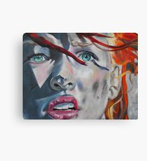 Leeloo Canvas Print