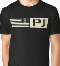 Pararescue (PJ) Black Flag Graphic T-Shirt