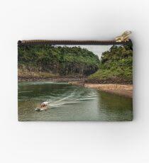 Iguaza River - load the boat Studio Pouch