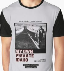 My Own Private Idaho Design Graphic T-Shirt