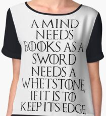 Tyrion Lannister - quote Women's Chiffon Top