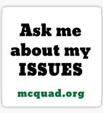 Manhattan College Quadrangle Newspaper Sticker