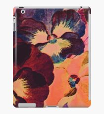 Vintage Gritty Floral iPad Case/Skin