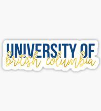 UBC - Style 13 Sticker
