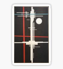 Ilya Chashnik - Suprematist Composition (1923) Sticker