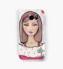 Teen Scene - Snow Girl Samsung Galaxy Case/Skin