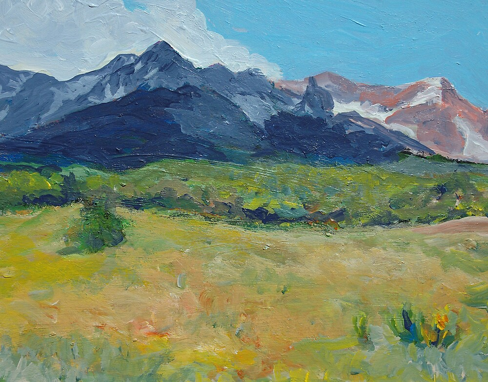 Mountain Meadow by Linda J Armstrong