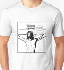 Jesus Prefers Apple Chancery Unisex T-Shirt