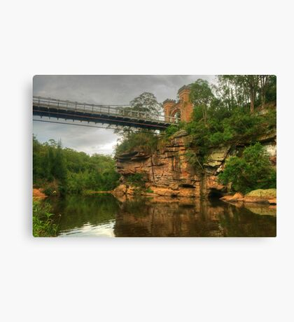 Reflections In The Valley Of The Kangaroo Canvas Print