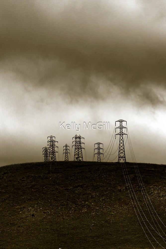 Power Tower - Hamilton, Tasmania by Kelly McGill