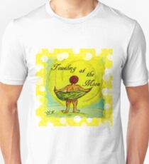 Toweling at the Moon 2 Unisex T-Shirt
