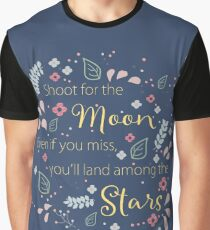 Shoot for the Moon Graphic T-Shirt