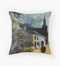 Laforet Village Belgium 56 Throw Pillow