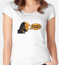 Fake! Women's Fitted Scoop T-Shirt