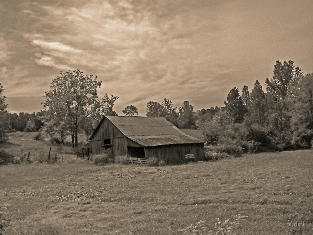 Barn in country by budrfli