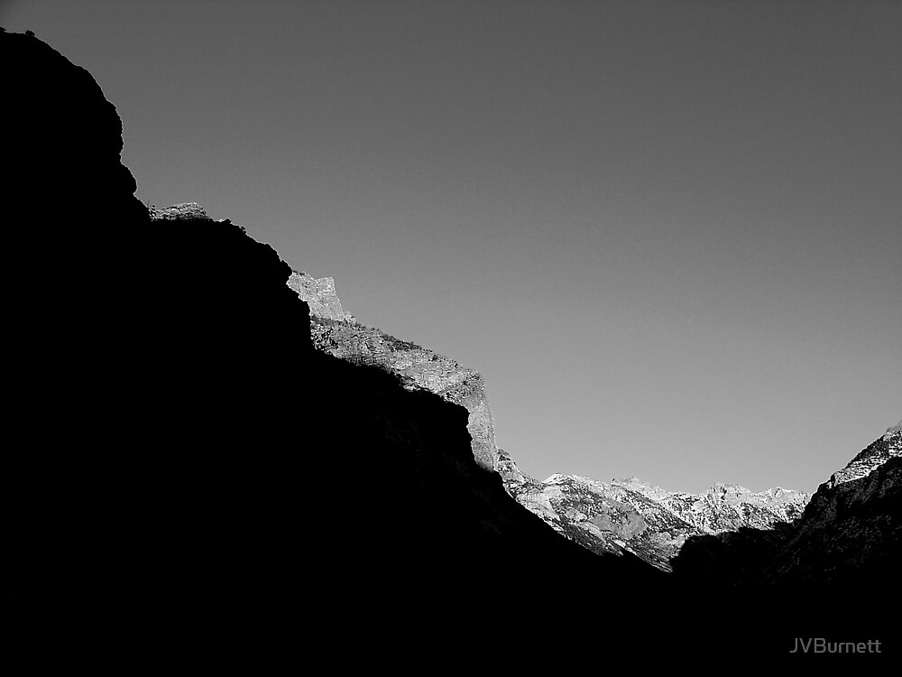 Mountain Abstract I by JVBurnett