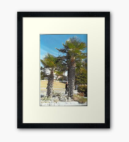 Welcome To Canada? Framed Print