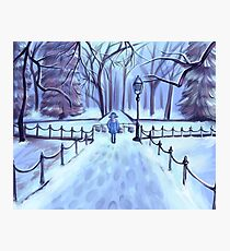 In Wintertime Photographic Print
